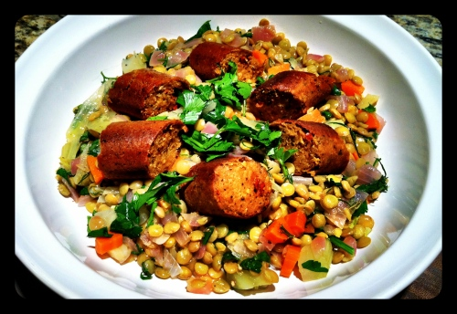 Fennel Lentil and Sausage