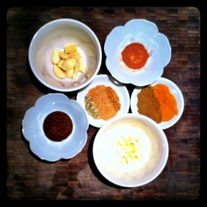 Curry Paste Ingredients