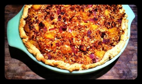 Savory Squash Pie