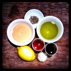 Creamy Tahini Dressing Ingredients