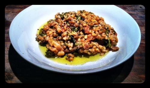 Broccoli Barley Risotto