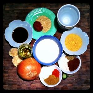 Vegan Taco Meat Ingredients