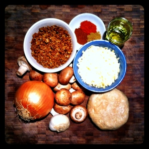 Vegetarian Taco Pie Ingredients