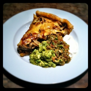 Vegetarian Taco Pie