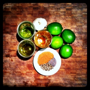Cumin Lime Dressing Ingredients
