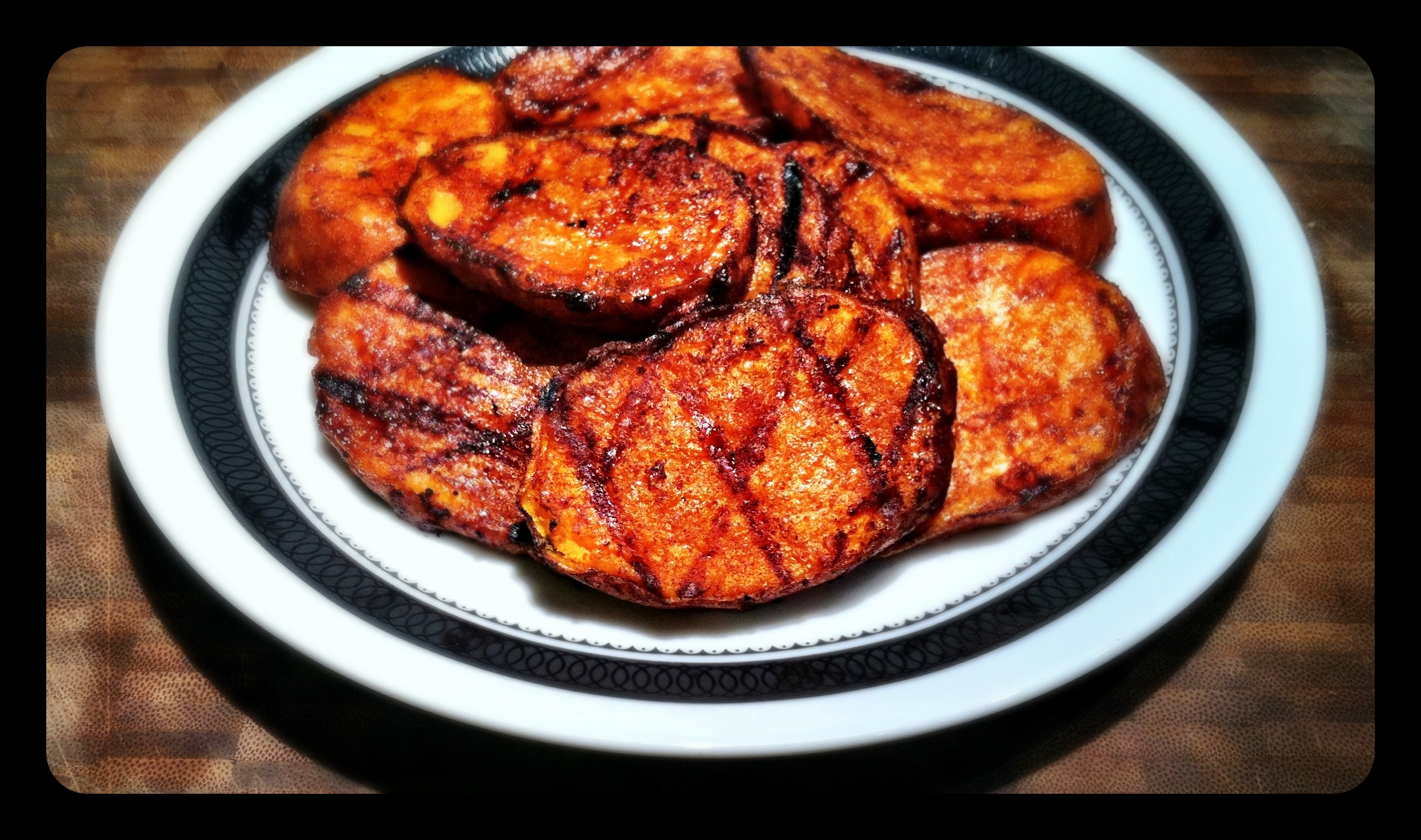 Grilled Sweet Potatoes | charlottealvina